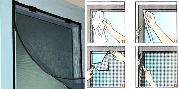 hướng dẫn cách tự làm cửa lưới chống muỗi, côn trùng