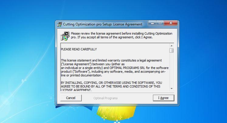 hướng dẫn cài đặt phần mềm cắt kính - Cutting Optimization Pro