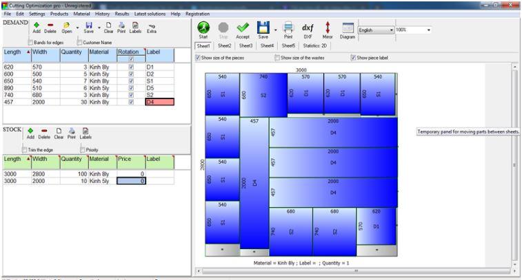 cách tải phần mềm Cutting Optimization Pro miễn phí
