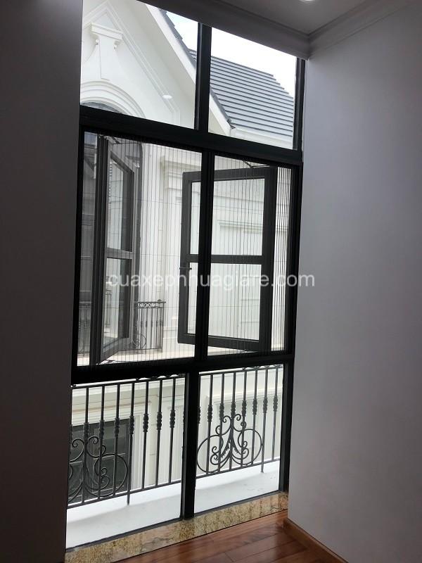 cửa lưới chống muỗi dạng xếp cửa sổ