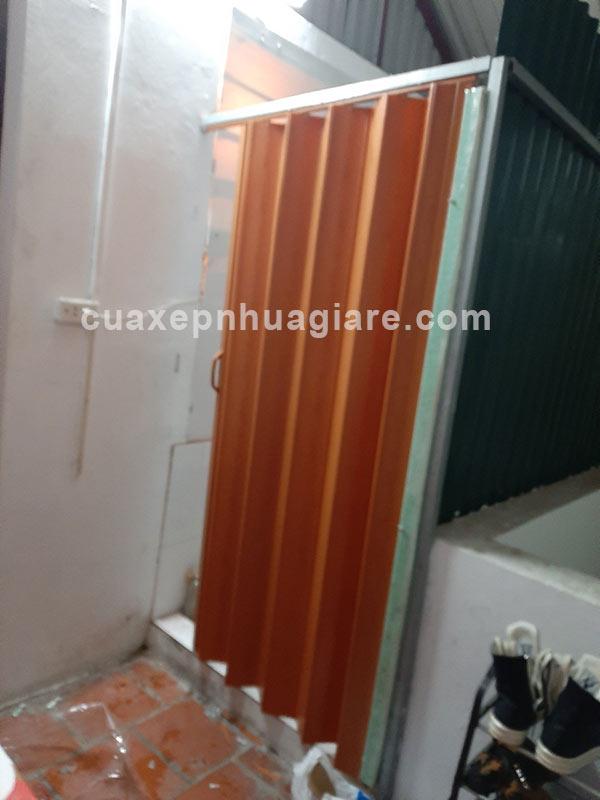 nhận lắp cửa kéo nhựa - cửa xếp nhựa nhà vệ sinh tại hà nội giá rẻ nhất