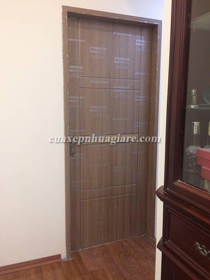 cửa nhựa giả gỗ abs hàn quốc cửa phòng ngủ