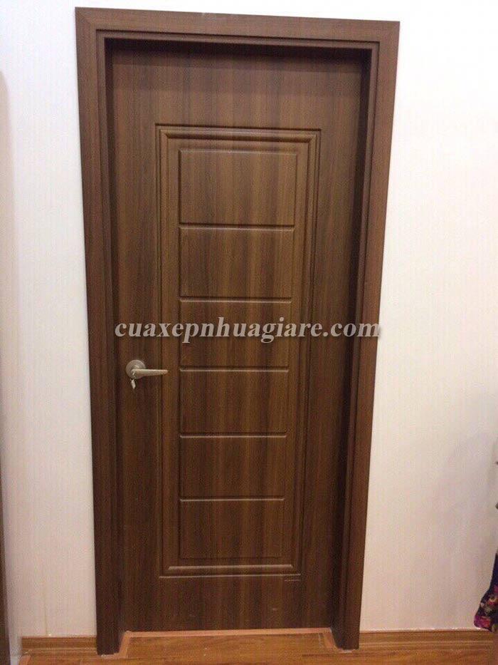mẫu cửa nhựa giả gỗ cửa thông phòng, cửa phòng ngủ, phòng vệ sinh