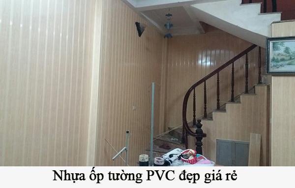 nhựa ốp tường pvc giá rẻ nhất tại hà nội