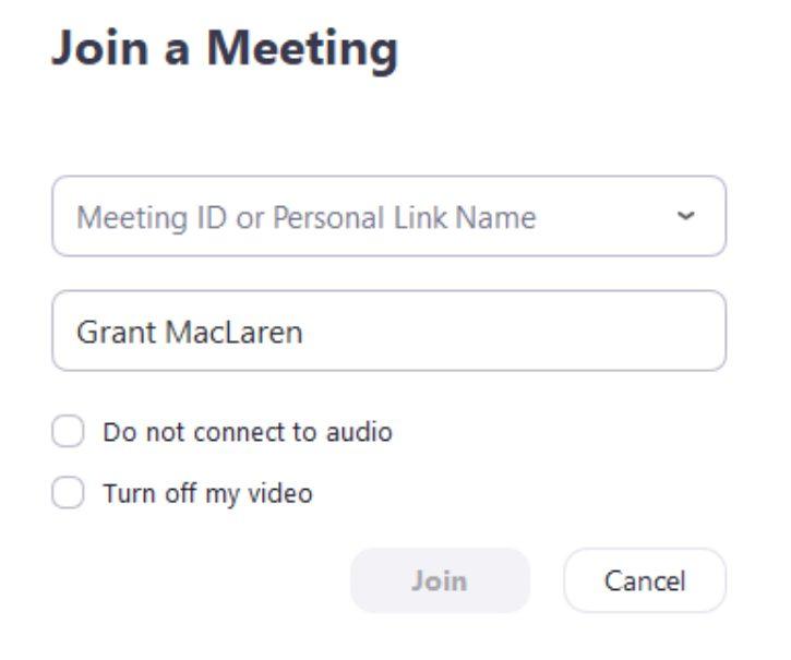 cách tham gia cuộc họp trực tuyến với phần mềm zoom