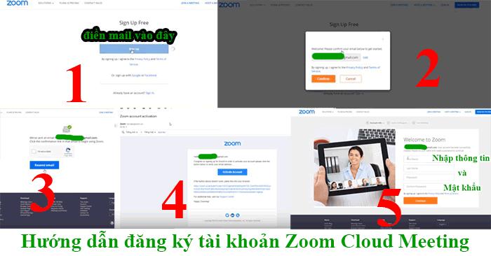 hướng dẫn tạo tài khoản zoom cloud meeting