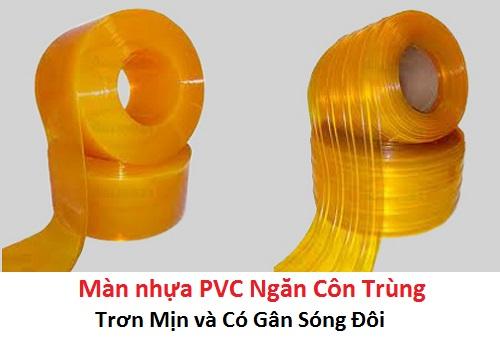 màn nhựa PVC ngăn côn trùng trong suốt