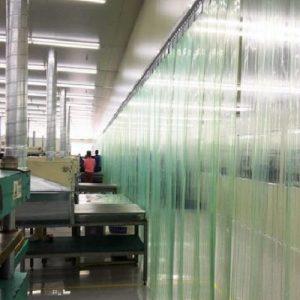 rèm nhựa pvc chống tĩnh điện trong suốt