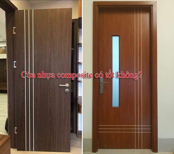 cửa nhựa gỗ composite có bền, có tốt không