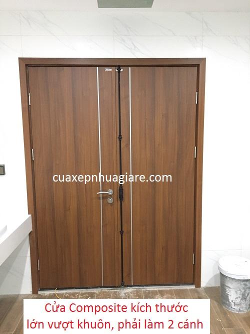 thi công cửa nhựa gỗ composite tại hà nội