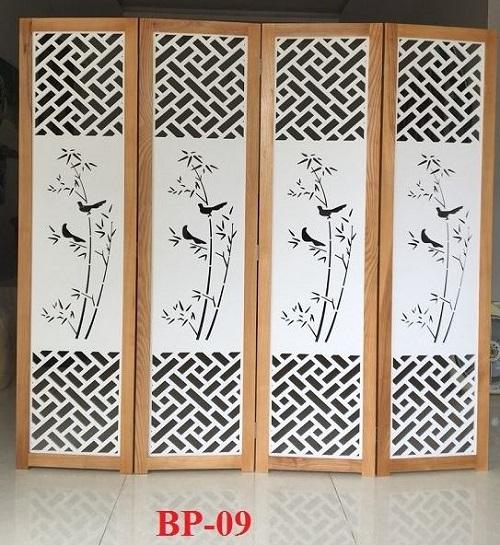 bán bình phong gỗ giá rẻ
