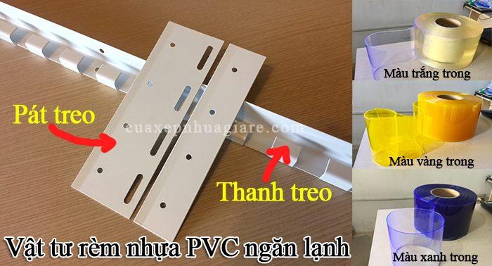 bán màn nhựa pvc trong suốt ngăn lạnh điều hòa hà nội