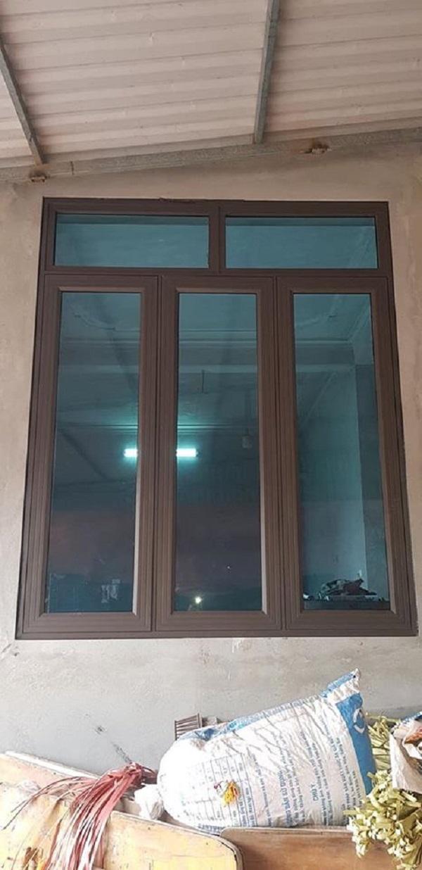 cửa sổ nhôm kính xingfa 3 cánh đẹp