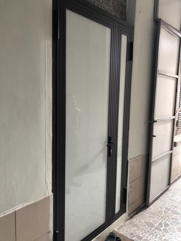 mẫu cửa nhôm kính xingfa tại hà nội