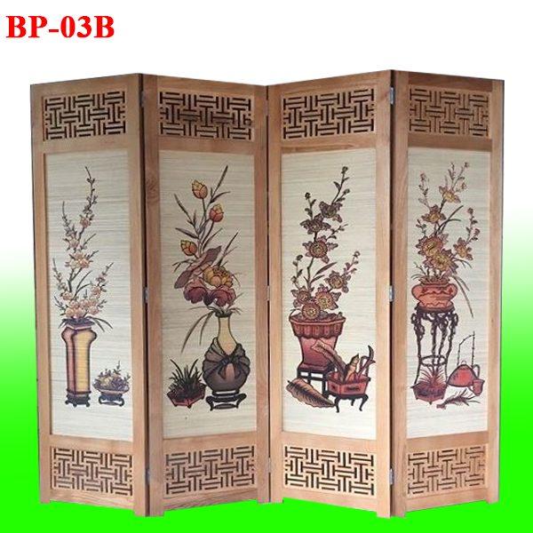bán bình phong gỗ BP03B