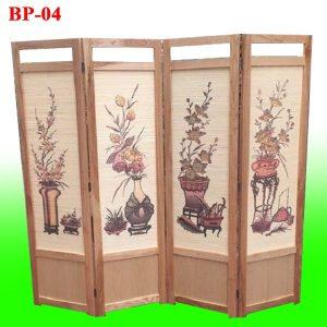 bình phong gỗ hà nội BP04