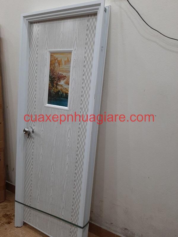 mẫu cửa nhựa pvc nhà vệ sinh giá rẻ đẹp