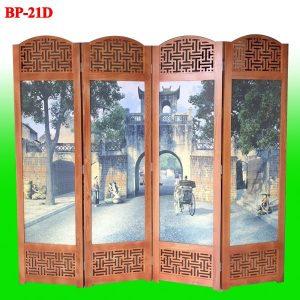 mẫu bình phong gỗ BP-21D