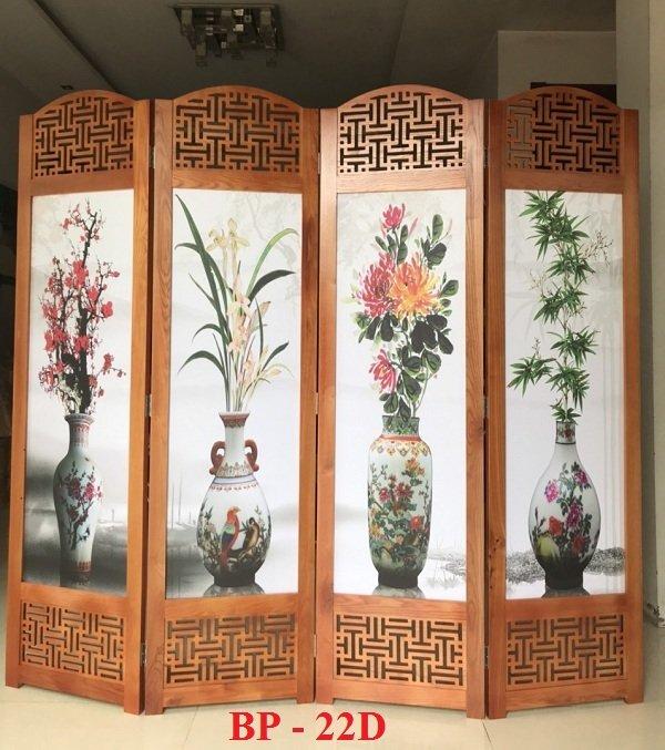 mẫu bình phong gỗ che bàn thờ đẹp