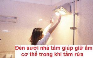 đèn sưởi nhà tắm giá bao nhiêu, loại nào tốt nhất