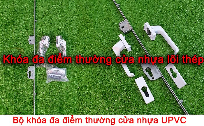 bán khóa đa điểm thường cửa nhựa lõi thép upvc