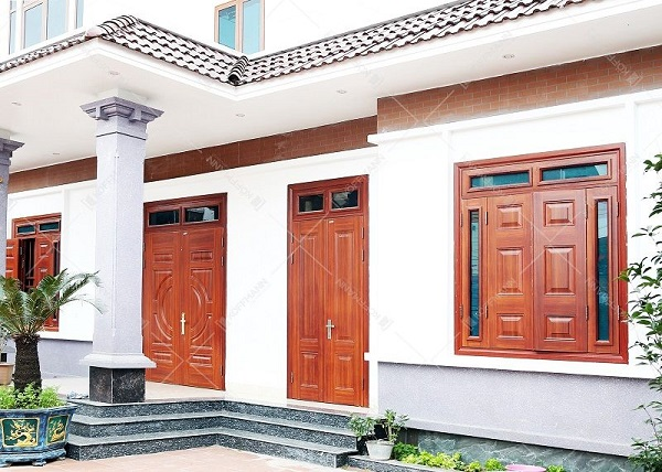 cửa thép vân gỗ koffman