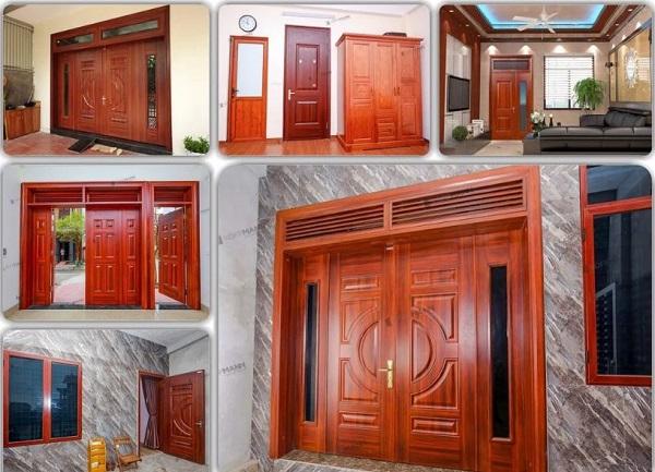 cửa thép vân gỗ đẹp bao nhiêu tiền 1 bộ